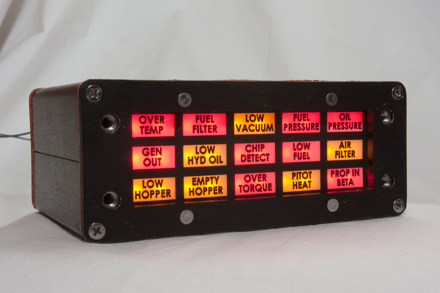 Led Annunciator Panel Compact Redundant And Fully